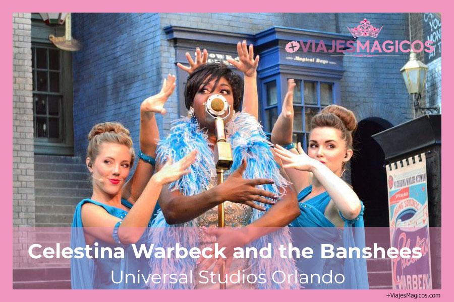 Celestina Warbeck and the Banshees