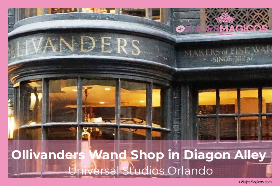 Ollivanders Wand Shop in Diagon Alley