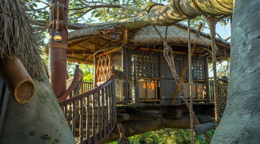 Swiss Family Treehouse MAGIC KINGDOM