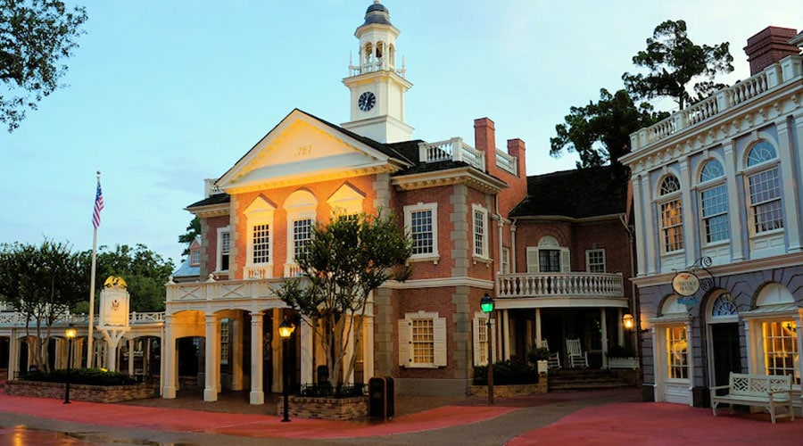 The Hall of Presidents DISNEY